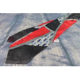 "Superb Vintage Windsor 1970s Swing Style Jaquard Multi Brights Tie Kipper 4"" Wide"
