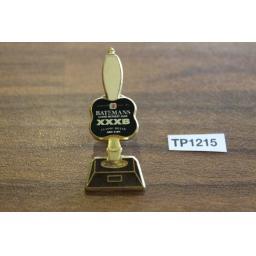 Vintage Batemans Treble XXXB Beer Tie Pin Enamel & Metal