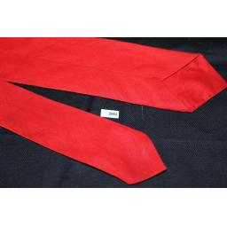 Vintage 1960s Retro Skinny Jim Mod Beatles Tie Red Black & White