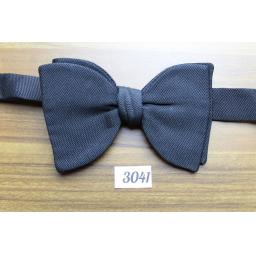 Vintage Classic Black Grosgrain Pre-tied Adjustable Bow Tie