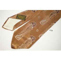 Vintage Towncraft Deluxe Cravat Copper Tie Classic Design