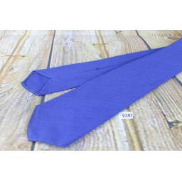 "Superb Vintage 1940s/1950s Pilgrim Cravats Plain Classic Blue Tie 3"" Wide"