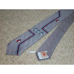 """Vintage 1940s/50s 3"""" Tie Narrow/Skinny Jim/Rat Pack/Deco Style"""