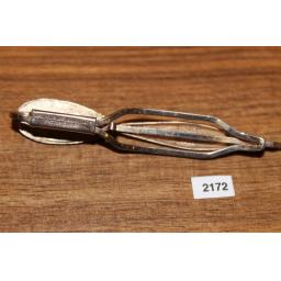 Vintage Lambournes LTD Patented Gold Metal Large Dart Tie Slide