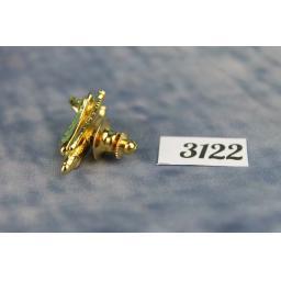 Vintage Unusual Gold Metal Space Shuttle Tie Pin TP3122