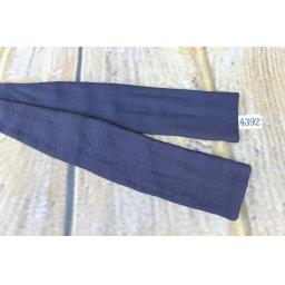 Vintage Classic Navy Self Tie Adjustable Straight End Skinny Bow Tie