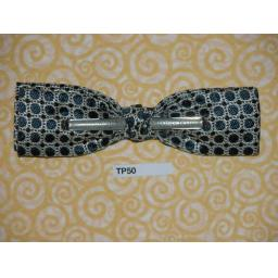 Vintage 1950s Clip On Bow Tie Royal U.S.A