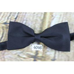 Vintage Classic Black Pre-Tied Bow Tie One Size Fits All
