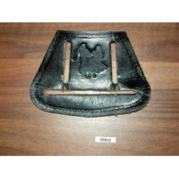 Vintage Leather Line/Square Dance Western Towel Holder Fits On Belt