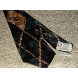 "Vintage 1940s/50s Ballerina Dancer Custom Tailored Tie 3.75"" Swing"