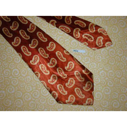 "Vintage 1940s/50s 4.25"" Wide Swing Tie Rat Pack Lindyhop Zoot Suit"