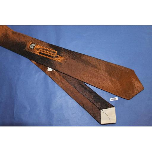 Vintage 1940s/50s 7 cms Tie Narrow/Skinny Jim/Rat Pack/Deco Style/ Mod