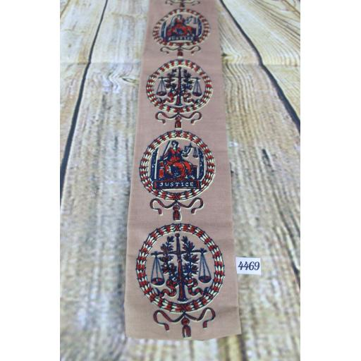 Superb Vintage 1960s Rooster Scales Of Justice Straight End Tie