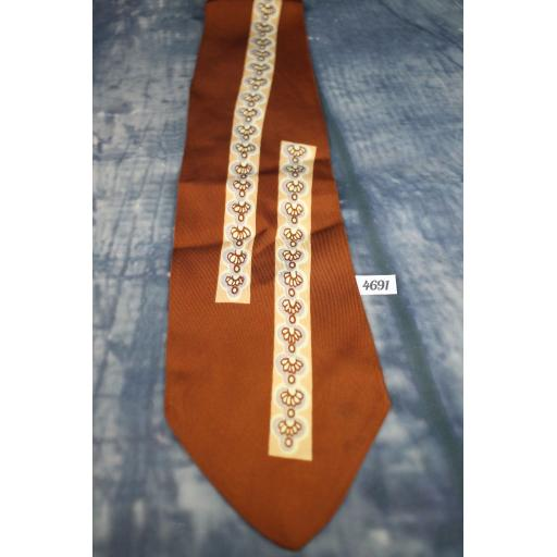 Superb Vintage 1940s 1950s Cheney Cravats Tie Lindyhop/Swing/Zoot Suit/Rat Pack