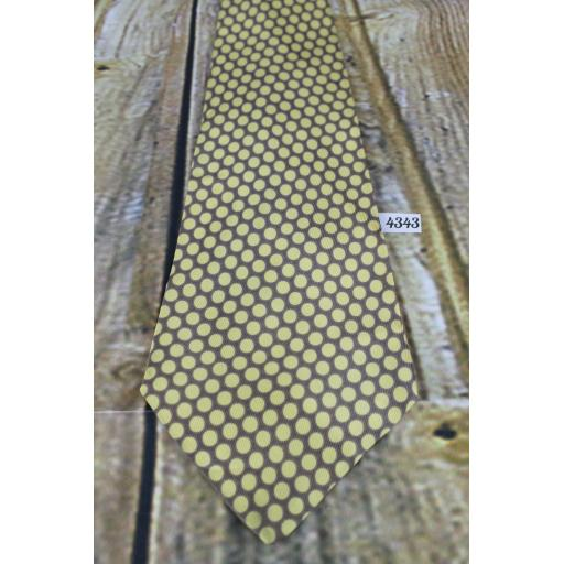 "Superb Vintage 1940s/1950s Superba Cravats ""The Continental"" Tie 4.5"" Wide Lindyhop/Swing"
