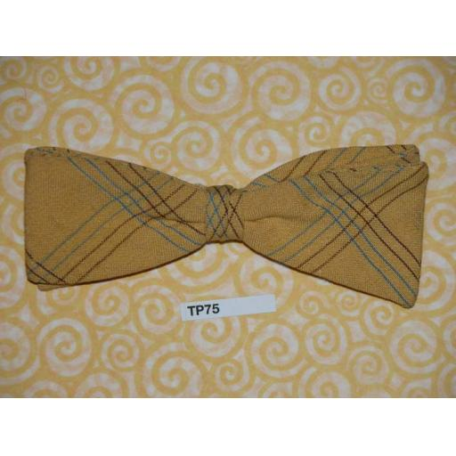 Vintage 1950s Clip On Bow Tie Beau Brummell U.S.A