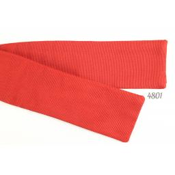Bow Tie Vintage Self-Tie Straight Bat Wing Style Red
