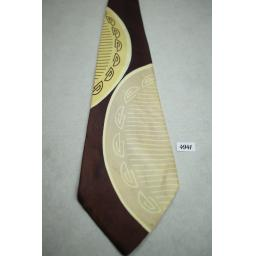 Knickerbocker New York Art Deco Vintage Swing Tie 1940s / 50s
