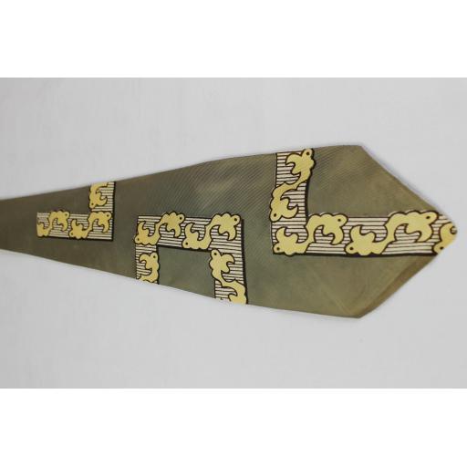 Vintage Haband Bold Design Swing Tie 1940s / 50s