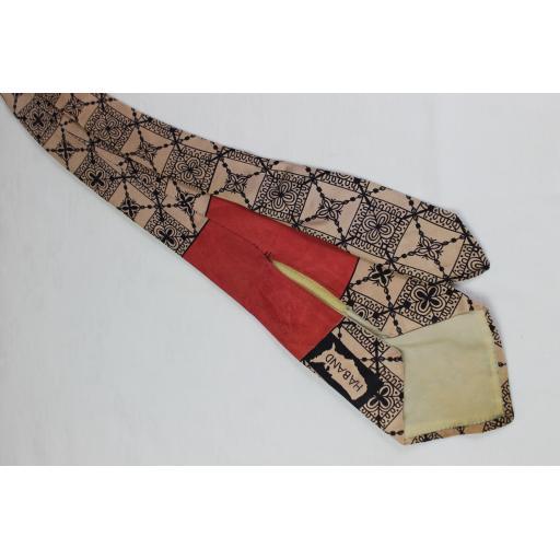 Vintage Haband Classic Design Swing Tie 1940s / 50s